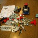 Erector Set Parts - 484 Pieces - tools, nuts & bolts, metal building parts Lots of Accessories