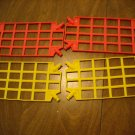 KNEX support Panels 2 Yellow 2 Pink No Part Numbers Found