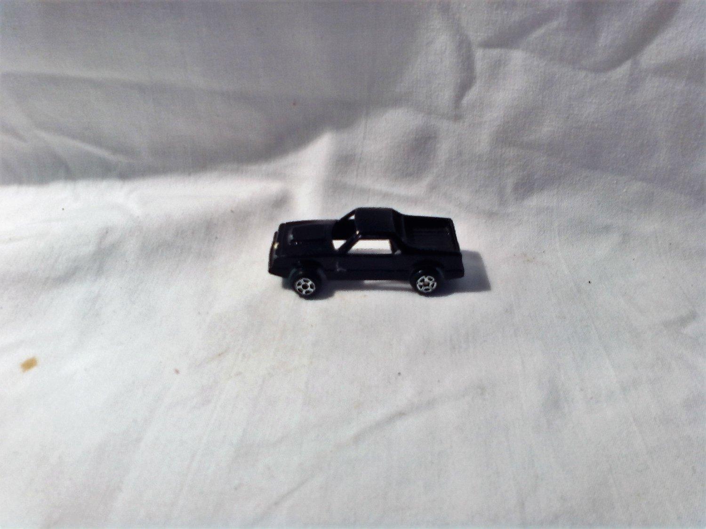 Mini TootsieToy Black Chevy El Camino (mw) Tootsie toy (GTB1)