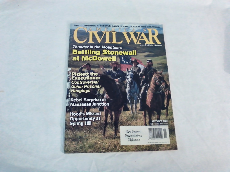 America's Civil War Magazine November 2002 Vol 15 No 5 Battling Stonewall at McDowell (G1)