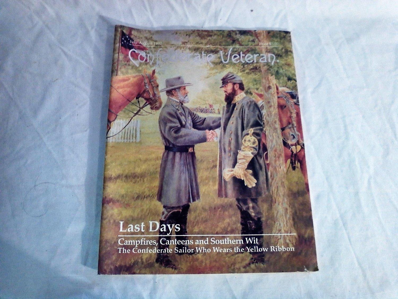 Confederate Veteran Magazine July - August 1992 Last Days / Stonewall Jackson (G1)