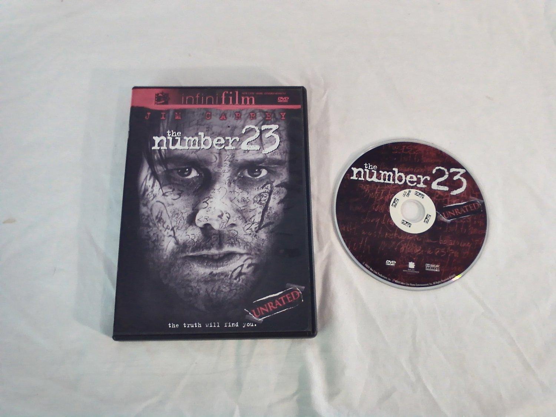 The Number 23 DVD Jim Carrey, Virginia Madsen, Logan Lerman, Danny Huston Rated R / Unrated (2007)