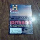 History Channel Magazine January / February 2012 Iditarod Vol. 10 No. 1 (G4)