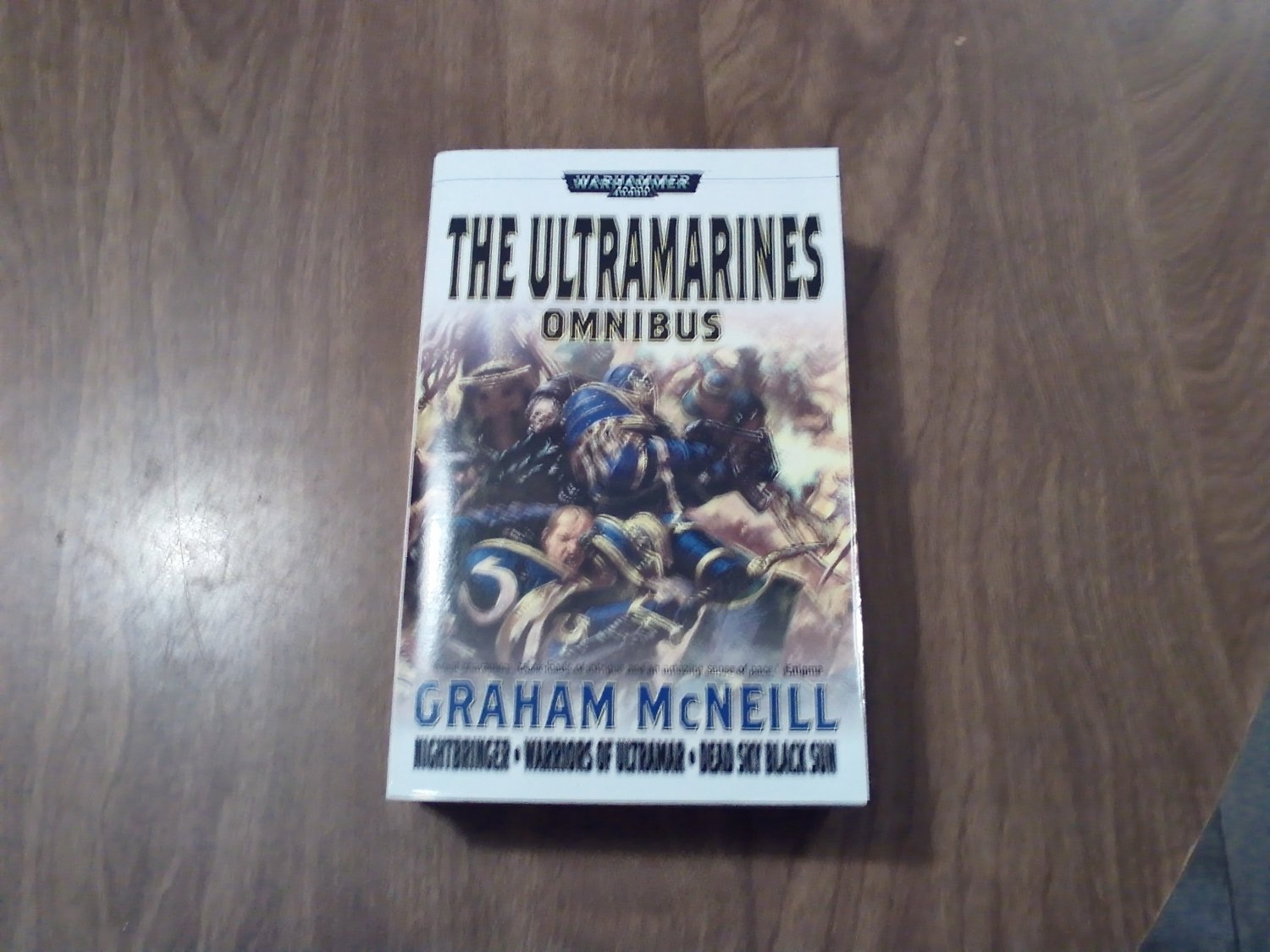 The Ultramarines Omnibus by Graham McNeill Warhammer (2008) (WCC2) 4 stories in one book