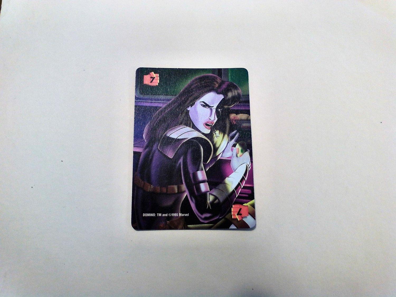 Marvel OverPower - Domino No. 295 - F7 Common, Power Card (1995) Fleer