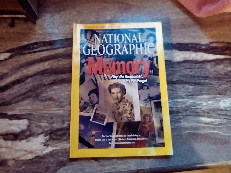 National Geographic November 2007 Vol. 212 No. 5 Memory, Tonga, Death Valley, Microfauna (G4)