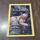 National Geographic August 2011 Vol. 200 No. 2 Kermode Bear, Great Bear Rainforest, Robots (G4)