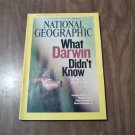 National Geographic February 2009 Vol. 215 No. 2 Darwin, Escaping North Korea, Mustang Trail (B1)