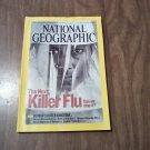 National Geographic October 2005 Vol. 208 No. 4 Killer Flu, Africa Desert, Trafalgar, Hawaii (B1)