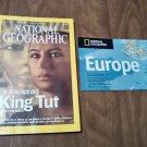 National Geographic June 2005 Vol. 207 No. 6 Europe, Tut, Chesapeake, Hyenas, Romania (B1)
