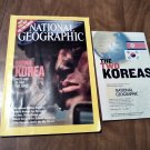 National Geographic July 2003 Vol. 204 No. 1 Two Koreas, DMZ, Animal Attraction, Ancient China (B1)