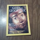 National Geographic January 2003 Vol. 204 No. 1 Great Wall, Volcano, Textiles, Athens (B1)