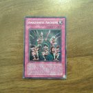 Yu-Gi-Oh! Amazoness Archers MFC-096 Normal Trap Card 1st Edition YuGiOh Magician's Force 1996