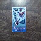 Dan Williams Denver Broncos #410 GameDay 1993 Fleer Football Card