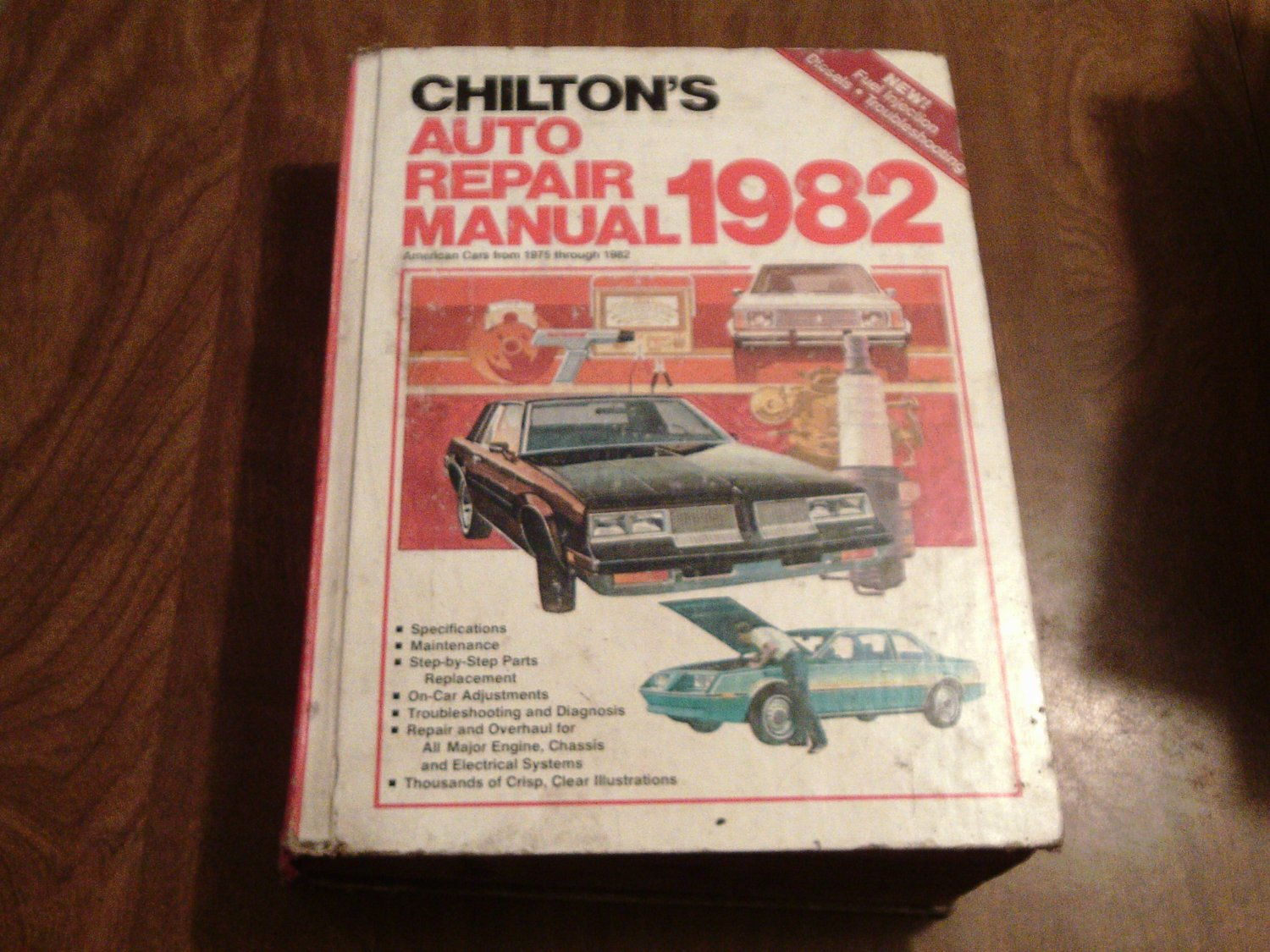 Chilton's Auto Repair Manual 1982 American Cars from 1975 through 1982  #7052 (JA)