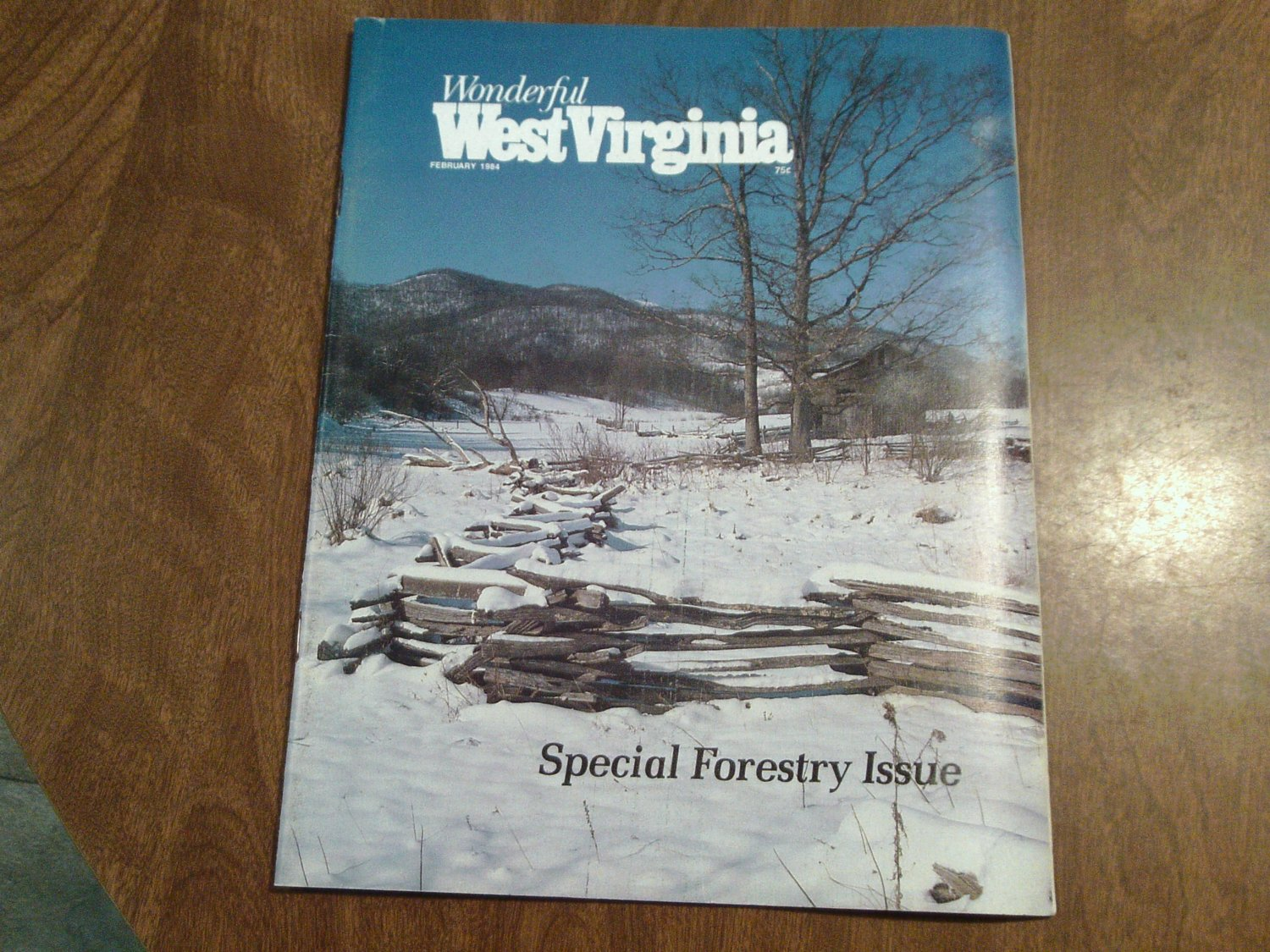Wonderful West Virginia February 1984 Volume 47 No. 12 Special Forestry Issue (C6)
