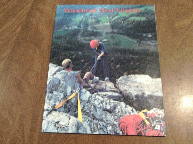 Wonderful West Virginia September 1990 Volume 54 No. 7 Peters Mountain, USS West Virginia (C2)