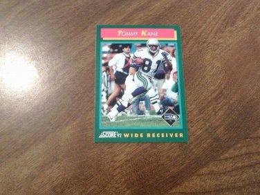 Tommy Kane Seattle Seahawks 324 1992 Score Football Card Fb38