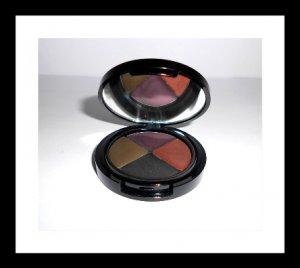 SHEER COVER Cream Eye Liner Quad~Plum, Bronze,Espresso Shot and Khaki~New and Factory Sealed