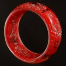 Image Red & Silver Acrylic Bracelet