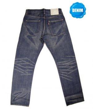 HED 709 Selvedge Denim Vintage Washed (Lightning Shape)