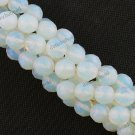 10MM OPAL OPALITE FACETED GEMSTONE LOOSE BEADS FINDINGS STRAND 15.5''