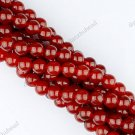 3MM RED AGATE CARNELIAN GEMSTONE ROUND BALL LOOSE BEADS FINDINGS STRAND
