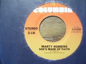 Marty Robbins 45   (077)