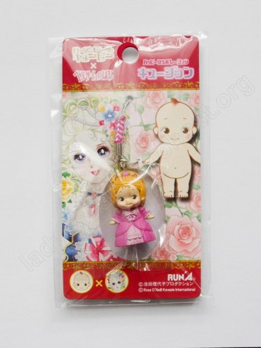 THE ROSE OF VERSAILLES LADY OSCAR MARIE ANTOINETTE KEWPIE PHONE STRAP CHAIN 2008 NEW SEALED