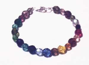 Multi-color Czech Bracelet