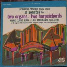 Bernardo Pasquini - 15 Sonatas for Two Organs / Two Harpsichords New York Music Guild, [1969]