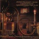 Peter Pelham's Music - A Sacred And Secular 18th Century Organ Recital -  LP 1980