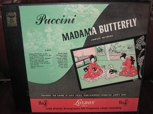 Puccini - Madama Butterfly Complete Recording London Records 1952