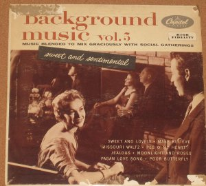 Background Music Vol. 5 - Capitol Records LP H-473