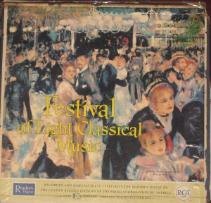 Festival of Light Classical Music - Reader's Digest 12 LP Set