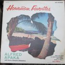 Hawaiian Favorites - Alfred Apaka - MCA 520