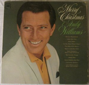 Andy Williams - Merry Christmas - Columbia LP CL 2420