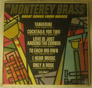 The Monterey Brass - Great Songs From Movies - Diplomat Records MB-1