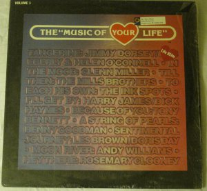 """The """"Music of Your Life"""" - CBS Records Special Products -PM 16884"""