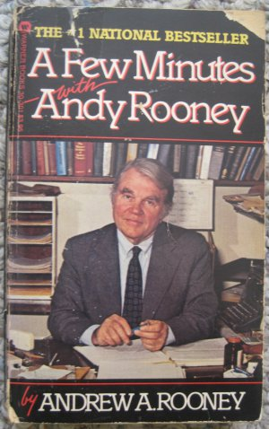 A Few Minutes with Andy Rooney - Andrew A Rooney - Warner Books 1st Printing December 1982 Paperback