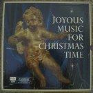 Joyous Music For Christmas Time - RCA Custom 4 LP Box set RD 22-K