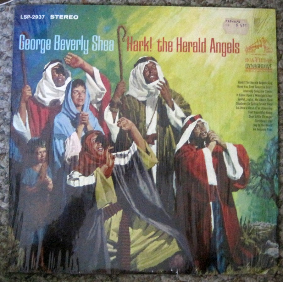 George Beverly Shea - Hark! the Herald Angels - RCA Victor LP LSP-2937