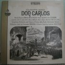 Giuseppe Verdi - Don Carlos - 4 LP Box Set Cetra Everest S-414/ 4