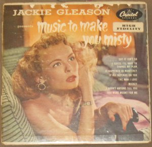 Jackie Gleason - Music to Make You Misty - Capitol Records 2 EP 45 RPM EBF-455