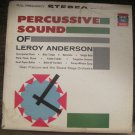 Percussive Sound of Leroy Anderson - Dean Franconi and His Sound Stage Orchestra- Pickwick LP KS-176