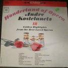 Andre Kostelanetz - Wonderland of Opera - Columbia LP CL 1995