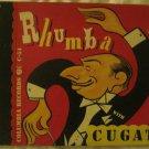 Rhumba With Cugat - 4 LP Hardbound 78 RPM Shellac Vinyl - Columbia Records C-54