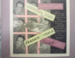 "Frankie Carle - Cocktail Time - RCA Victor 10"" Musical Smart Set LPM 2"