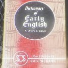 Joseph T. Shipley - Dictionary of Early English - Littlefield, Adams & Co. Paperback 1963