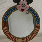 Walt Disney Productions - Vintage Stars and Stripes Mickey Mouse Wall Mirror M 304-003
